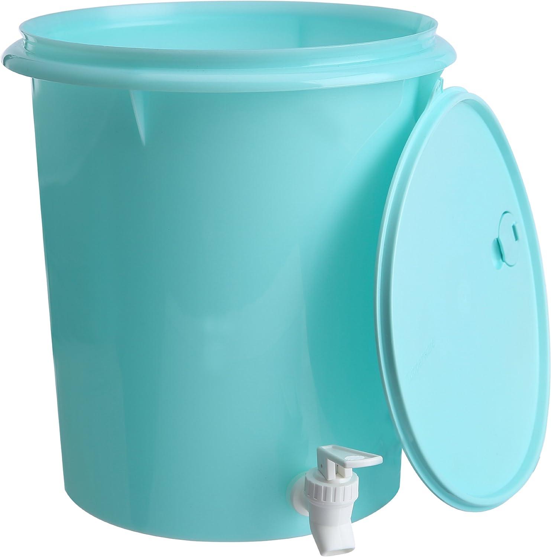 Tupperware redondo dispensador de agua, 8,7 litros: Amazon.es: Hogar