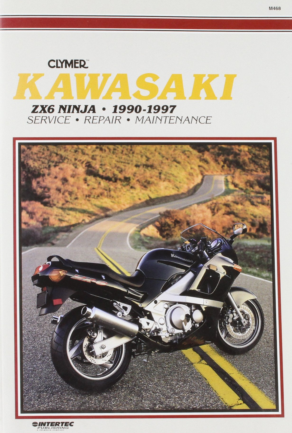 1990 Zx6 Repair Manual Zx6e Wiring Diagram Kawasaki Ninja 1997 Clymer Workshop Amazon Co Uk Rh 2008
