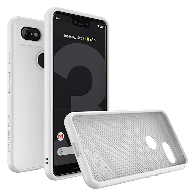 newest f18a7 daa52 RhinoShield Case for Google Pixel 3 XL [SolidSuit] | Shock Absorbent Slim  Design Protective Cover with Premium Matte Finish [3.5M/11ft Drop ...