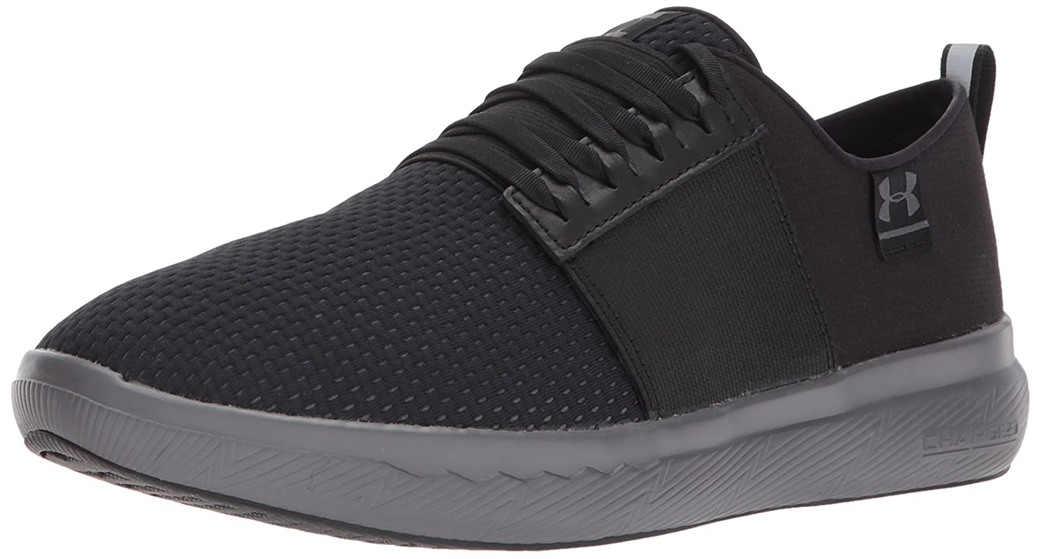 Under Armour Men's Charged 24/7 2.0 X NM Running Shoe B06XPW2D1S 15 M US|Black (002)/Rhino Gray