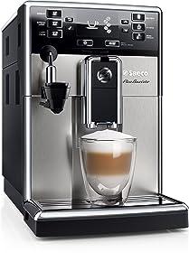 Saeco Pico Baristo HD8924/01 - Máquina de café espresso automática con espumador de leche automático