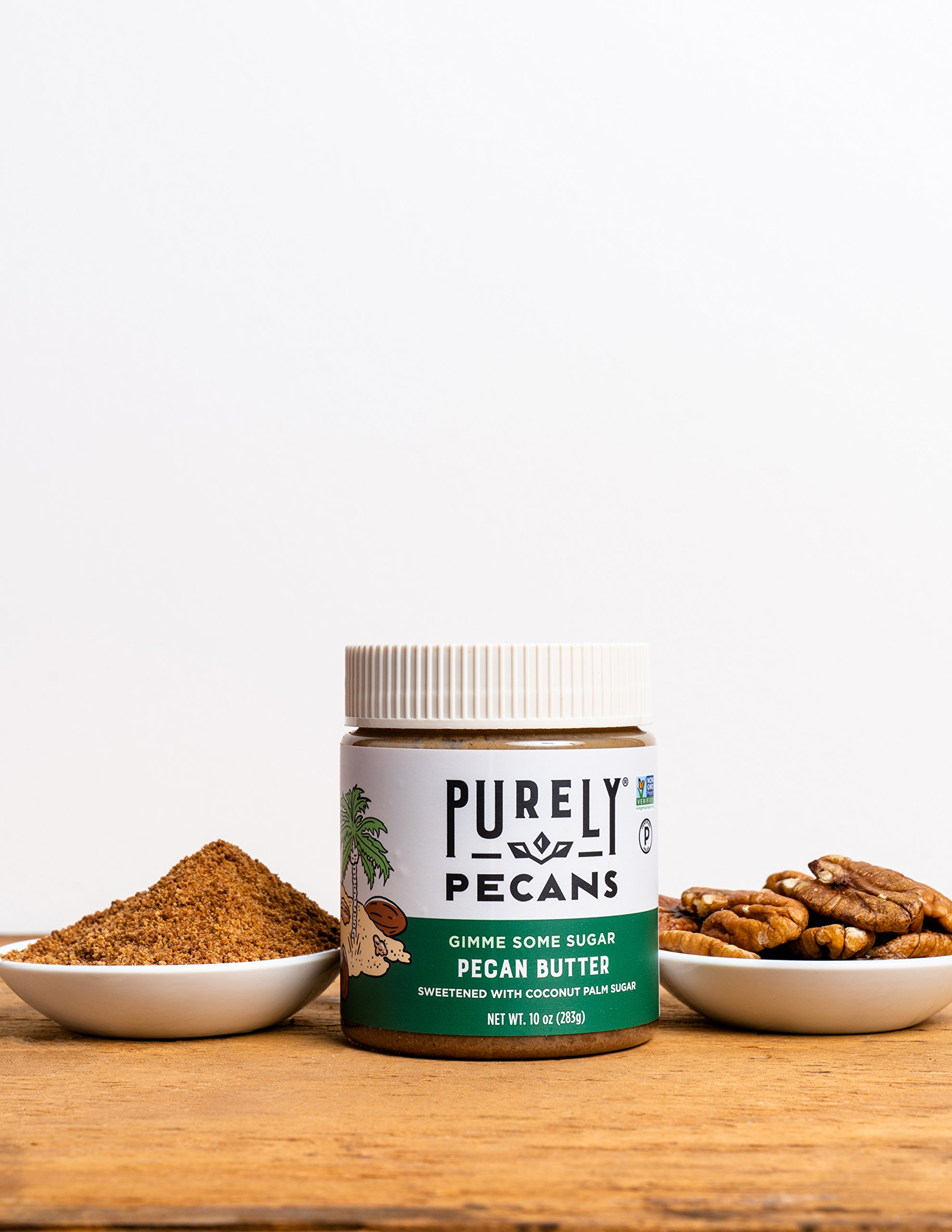 Clean Pecan Butter with Coconut Sugar- VEGAN- PALEO-Certified