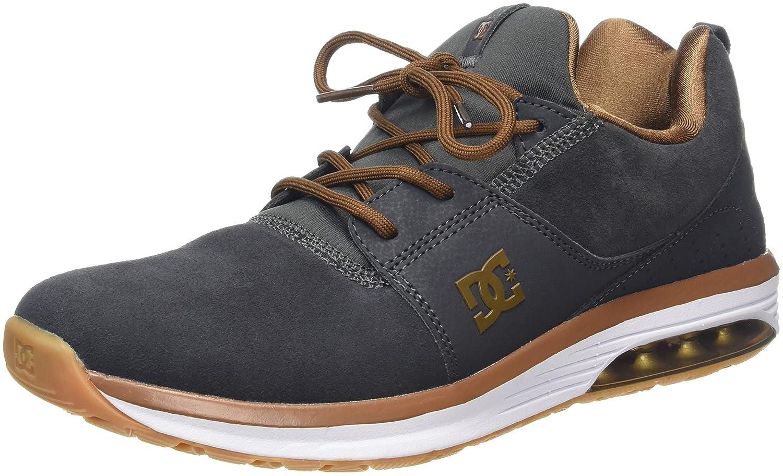 DC Shoes Heathrow IA - Zapatillas para Hombre 40.5 EU|Gris (Dark Shadow)