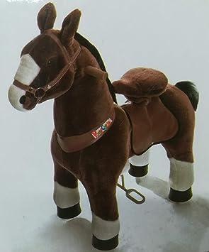 """Pony Cycle """"Mister ED caballo marrón, Pony sobre ruedas fahrendes caballo balancín"""
