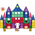 100-Piece Playmags Magnetic Tiles Building Set