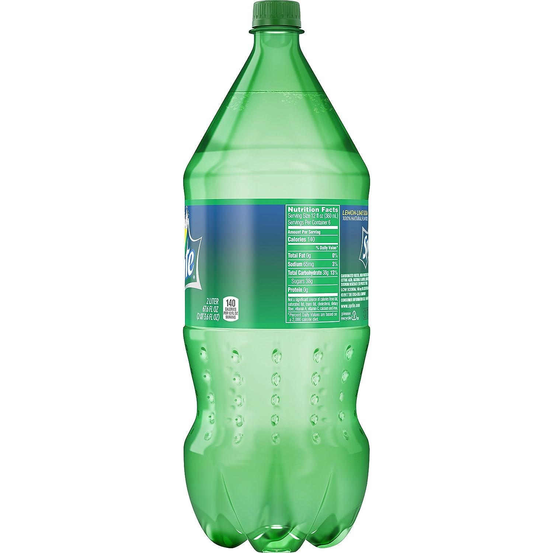 Amazon.com : Sprite Lemon Lime Soda Soft Drink, 2 Liters : Grocery &  Gourmet Food