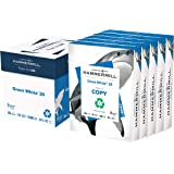 Hammermill Printer Paper, Great White 30% Recycled Paper, 8.5 x 11 - 5 Ream (2,500 Sheets) - 92 Bright, Made in the USA