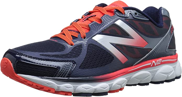 New BalanceM1080 D V5 - zapatos de running hombre, Naranja (ob5 orange/blue), 46,5: Amazon.es: Zapatos y complementos