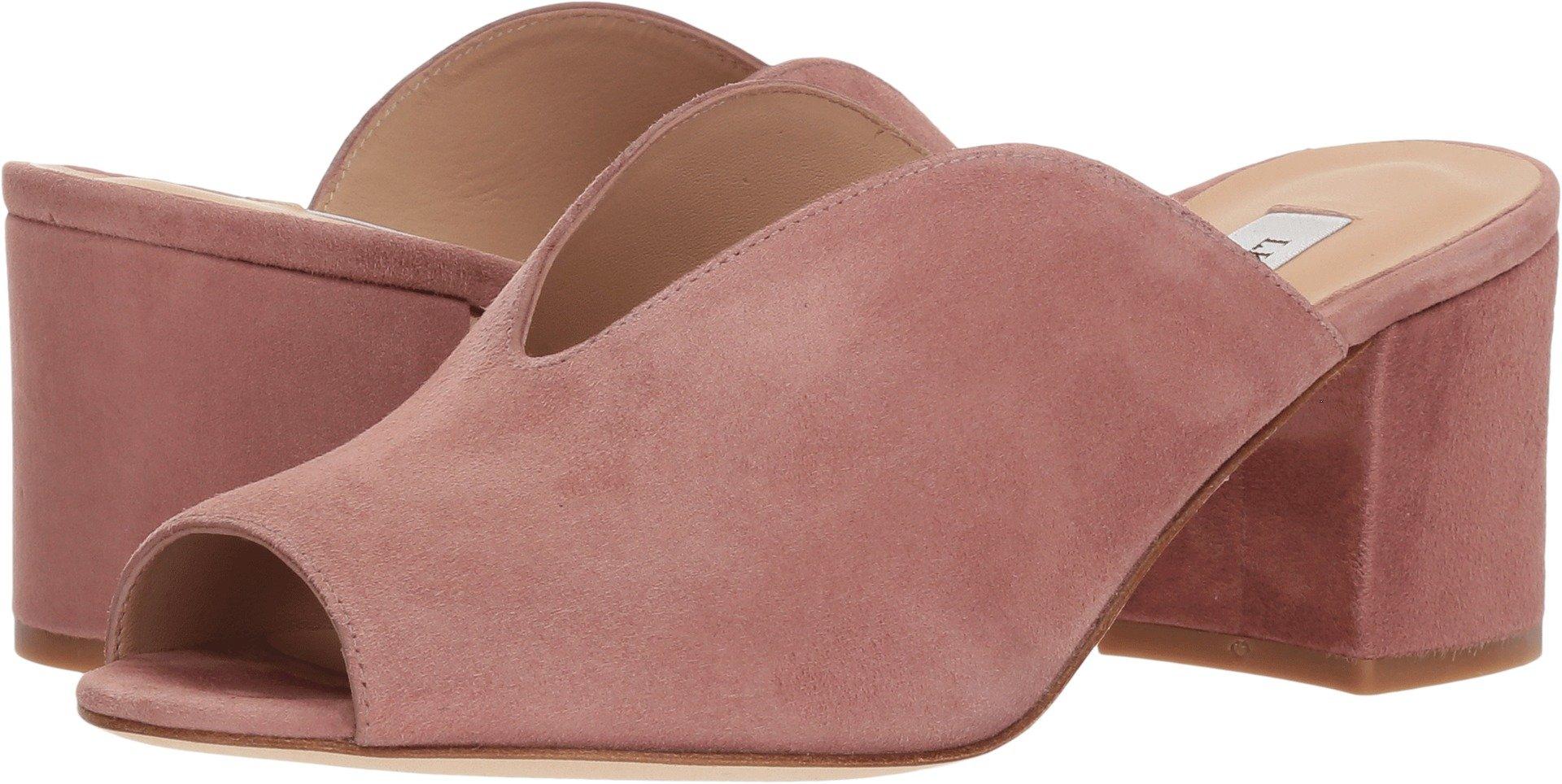 L.K. Bennett Women's Jagoda Slide Sandal, Dark Pink, 37 Medium UK (6.5 US)