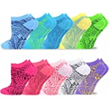 TeeHee Women's Value 9+1 Pack Fashion No Show Cotton Socks