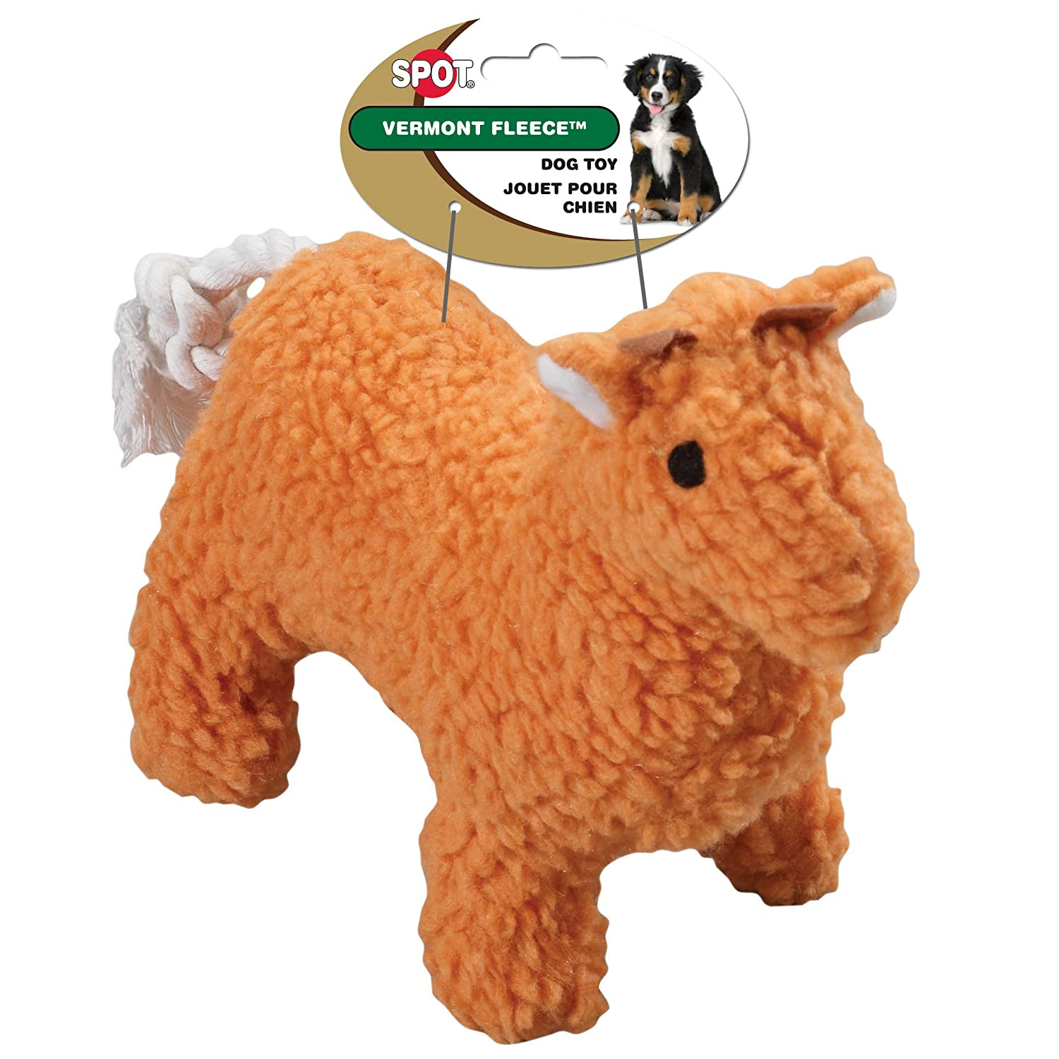 Pet Supplies Pet Squeak Toys Ethical Pet Vermont Fleece Dog