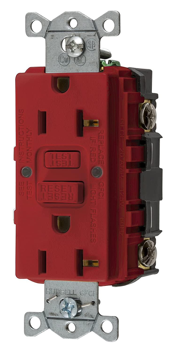 Bryant Electric Gfrst15i 15 Amp 125v Commercial Residential Self Or 20 Tamper Weather Resistant Gfci Receptacles Test Duplex Receptacle Ivory