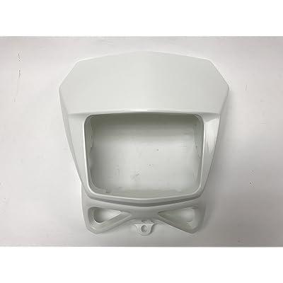 2002-2020 SUZUKI DR-Z DRZ 400S SM DR 200 650 OEM HEAD LIGHT COVER MASK (White): Automotive