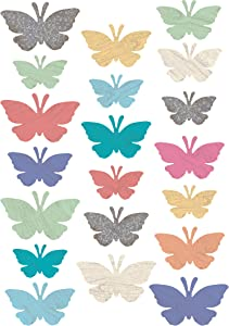 Teacher Created Resources Home Sweet Classroom Butterflies Accents - Assorted Sizes (TCR8562)