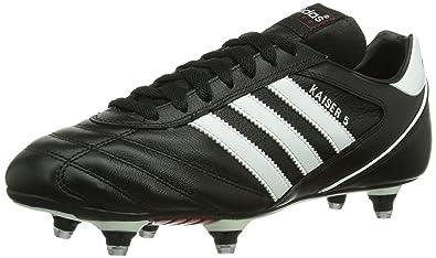 online store 4bc23 7e6f9 Adidas Kaiser 5 Cup , Chaussures de football homme -Noir (Noir Blanc