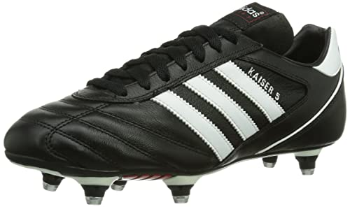 buy online 31658 e5ed5 adidas Kaiser 5 Cup, Men s Footbal Shoes, Black (Black running White Ftw