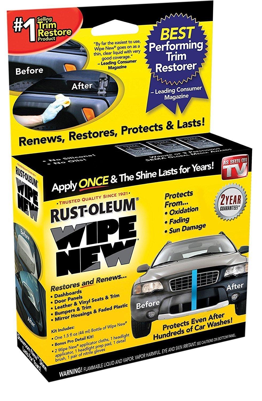Wipe New Trim Restorer WN6PCMSTRRT