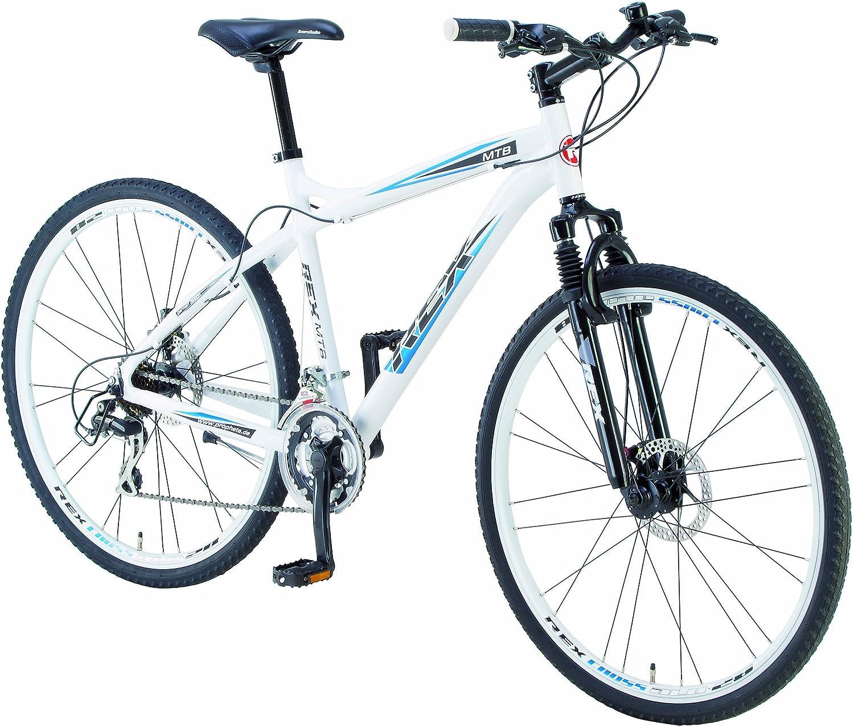 Rex ALU-Crossrad Bicicleta, Talla L (173-182 cm), Color marrón ...