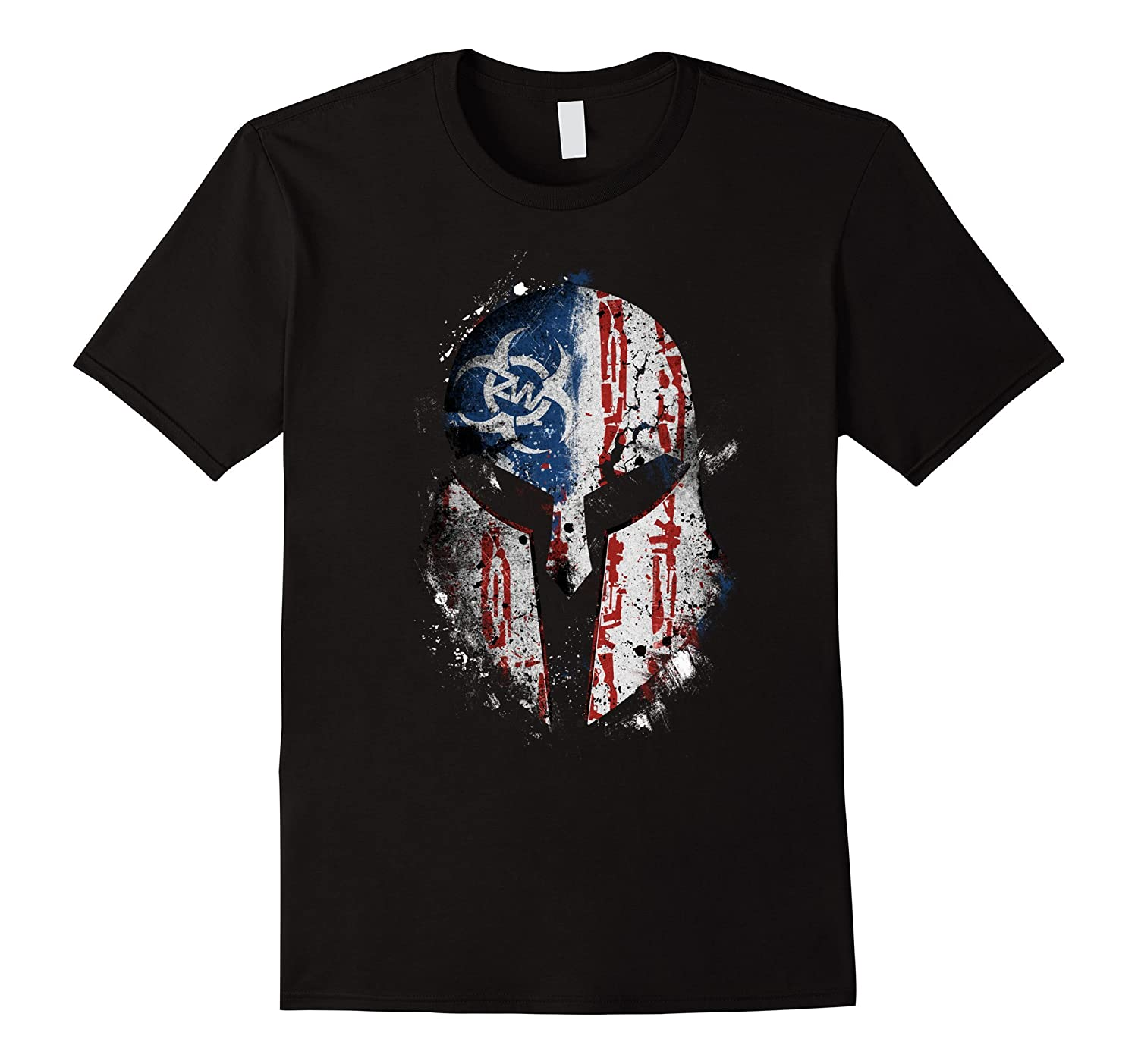 Zombie Ware Spartan T-Shirt-TH