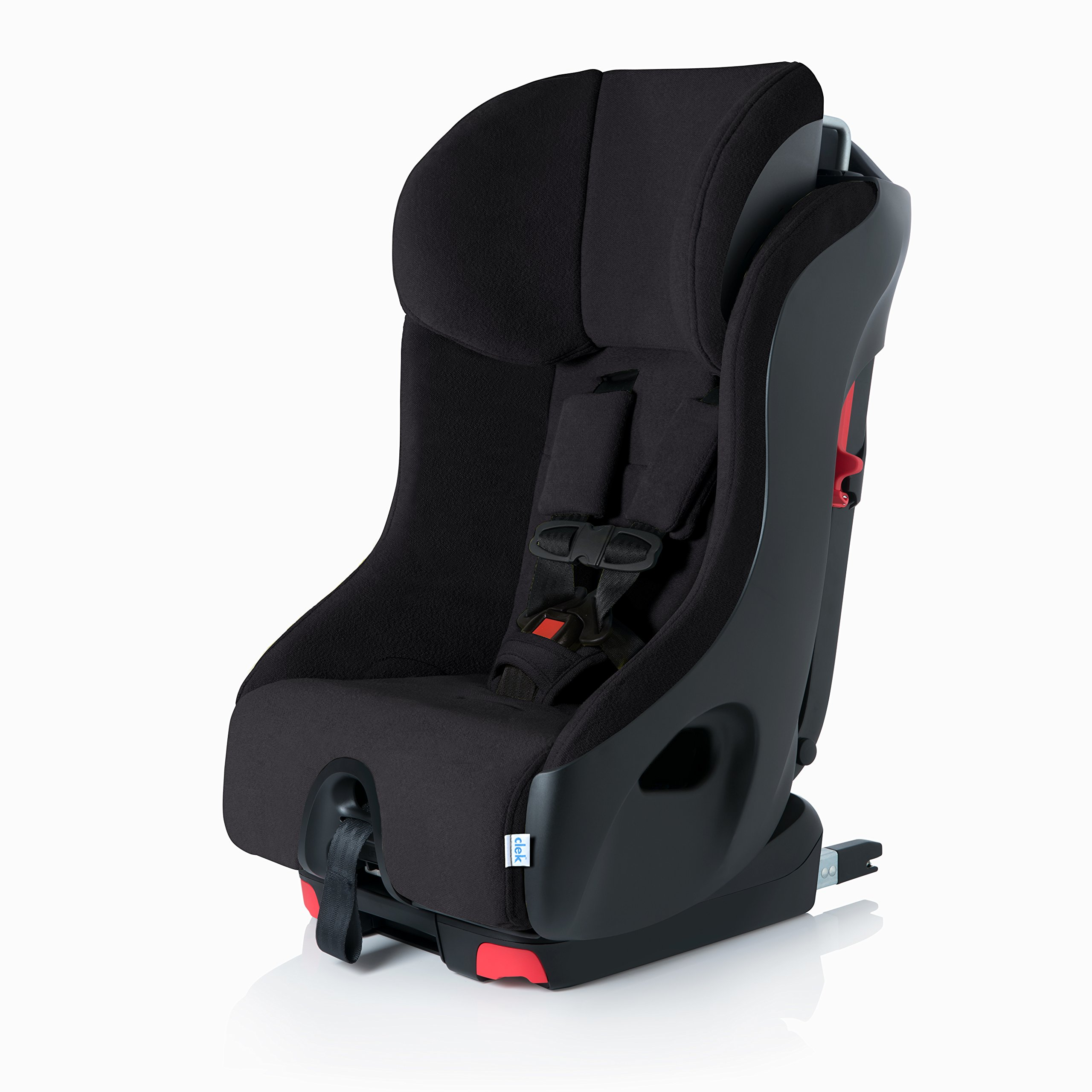 Clek Foonf Rigid Latch Convertible Baby and Toddler Car Seat, Rear and Forward Facing with Anti Rebound Bar,Shadow