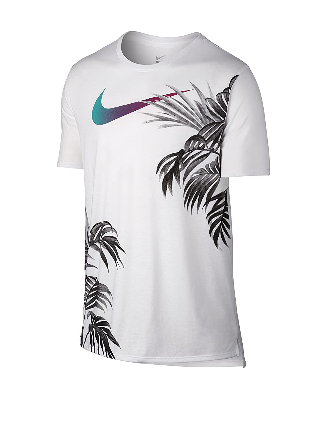 Amazon.com: Nike Men's Shoes of Paradise White T-Shirt XL: Sports & Outdoors