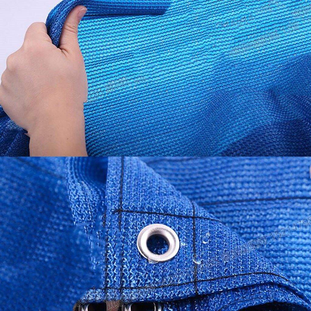 QX pengbu IAIZI Sonnenschutz-Netzverschlüsselung Verdickungs-Netz-Balkon-Blaumen-Schatten-Netz-Sonnenschutz-Wärmedämmung Verdickungs-Netz-Balkon-Blaumen-Schatten-Netz-Sonnenschutz-Wärmedämmung Verdickungs-Netz-Balkon-Blaumen-Schatten-Netz-Sonnenschutz-Wärmedämmung Garten im Freien, blau (Farbe   Blau, größe   4  5m) B07MH9YYTF Zeltplanen Ausreichende Versorgung 8d7f88