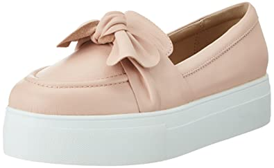 Buffalo London Damen 216-3442 Nappa Leather Slipper, Mehrfarbig (Pink 01), 37 EU