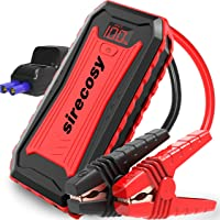 $79 » sirecosy Battery Jump Starter 2400 Amp 22000mAh Car Jump Starters for up to 7.0L Gas and 6.5L Diesel Engines Portable Jump…