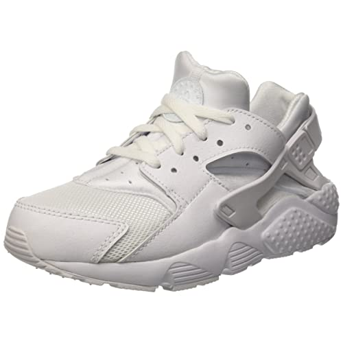 d838aba876 NIKE Huarache Little Kids Running Shoes White/Pure Platinum 704949,110 ...