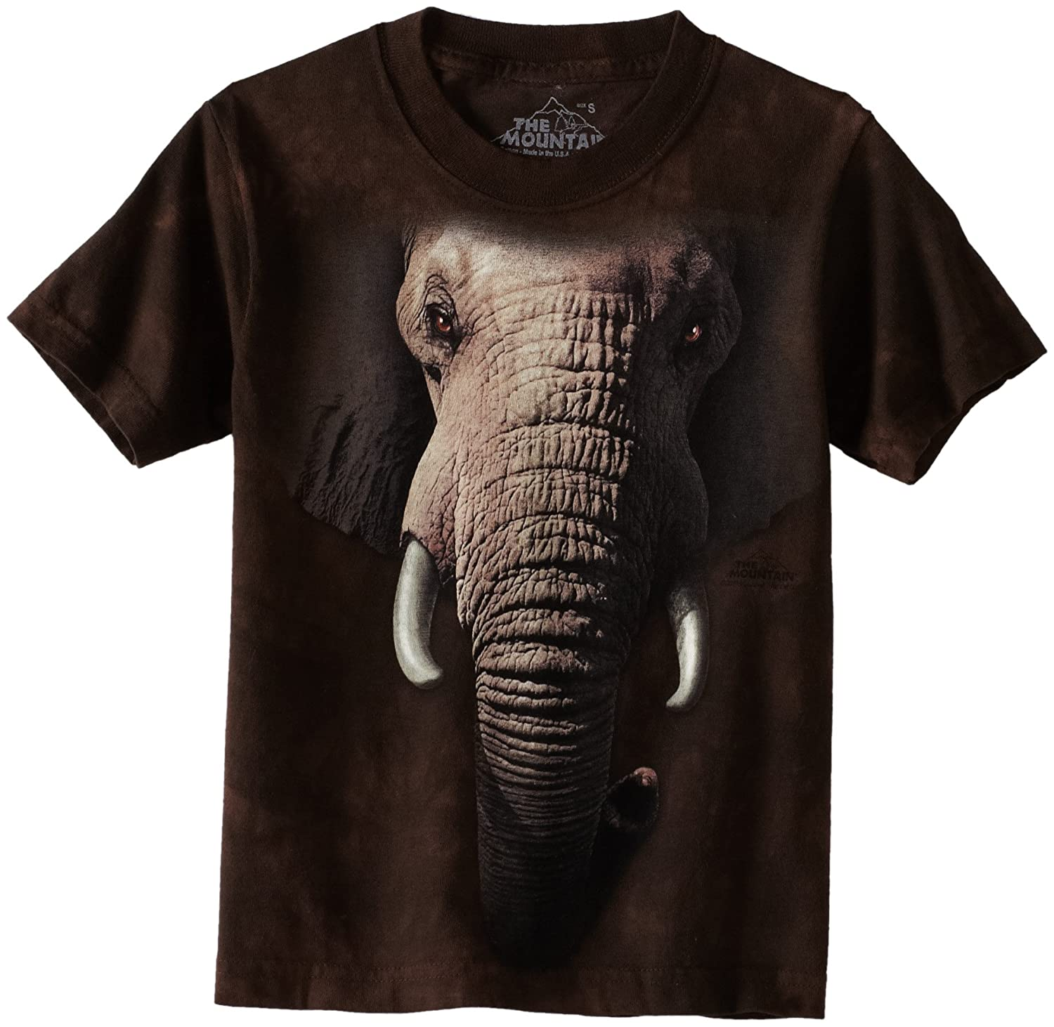 c6dd5ced51088 Amazon.com  The Mountain Little Boys  Youth Elephant Face Shirt  Fashion T  Shirts  Clothing