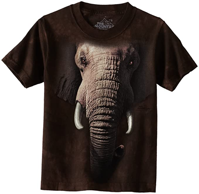 3126314189081b Amazon.com  The Mountain Little Boys  Youth Elephant Face Shirt  Fashion T  Shirts  Clothing