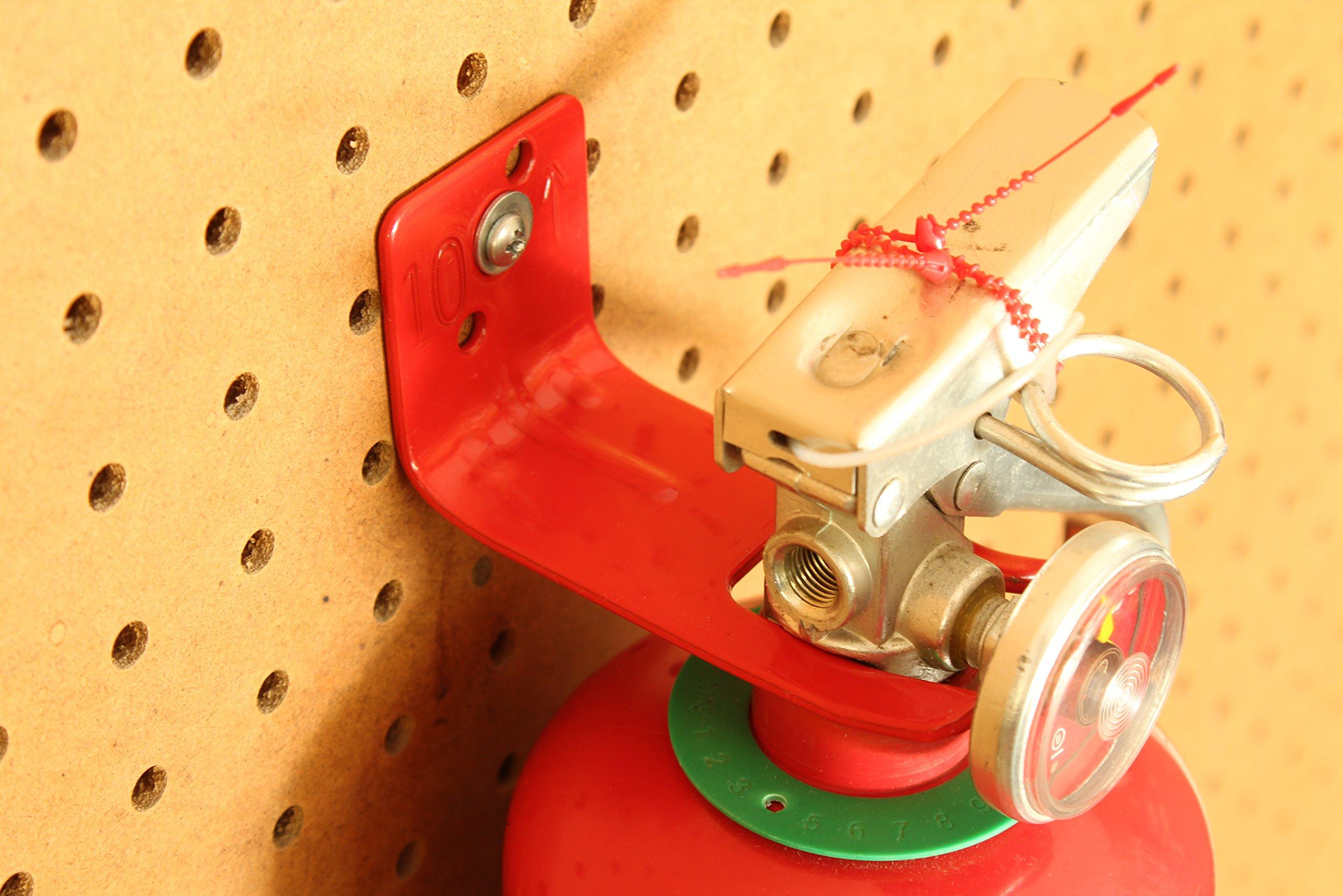 Fire Extinguisher Wall Mount - Fork Style Bracket (3, Large) by Extinguisher Experts (Image #6)