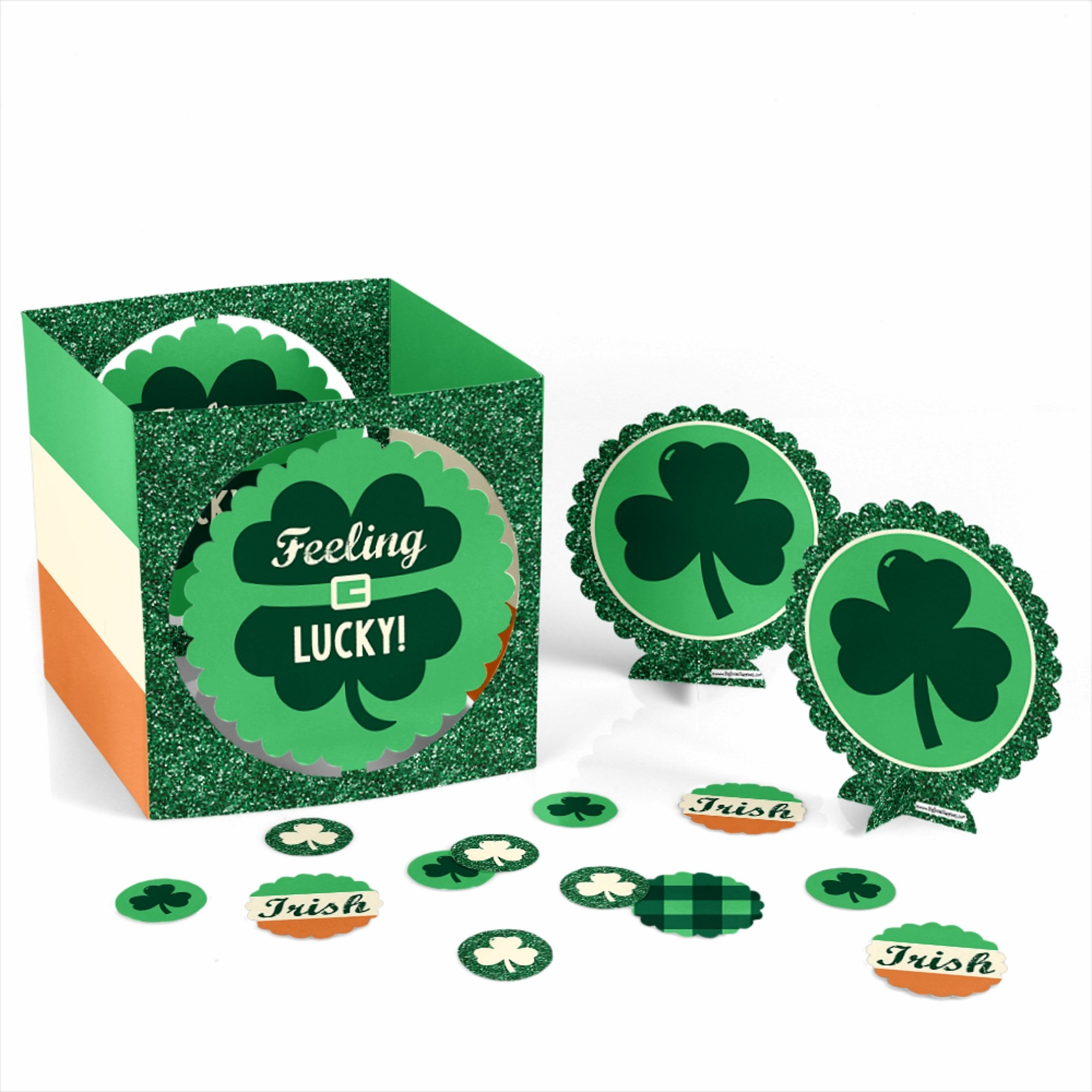 Big Dot of Happiness St. Patrick's Day - Saint Patty's Day Party Centerpiece & Table Decoration Kit by Big Dot of Happiness (Image #3)