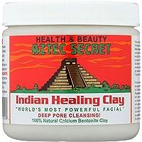 Aztec Secret - Indian Healing Clay - Deep Pore Cleansing Facial & Healing Body Mask - The Original 100% Natural Calcium…