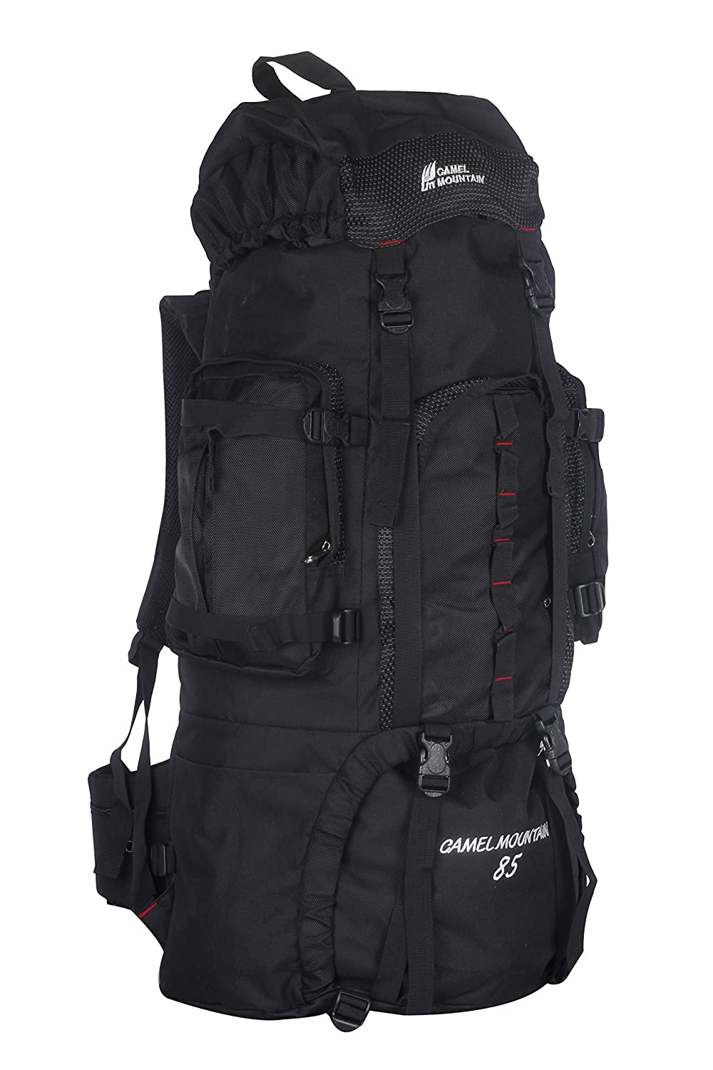 0565564e5c Camel mountain 1022 85litre black backpack: Amazon.in: Sports, Fitness &  Outdoors