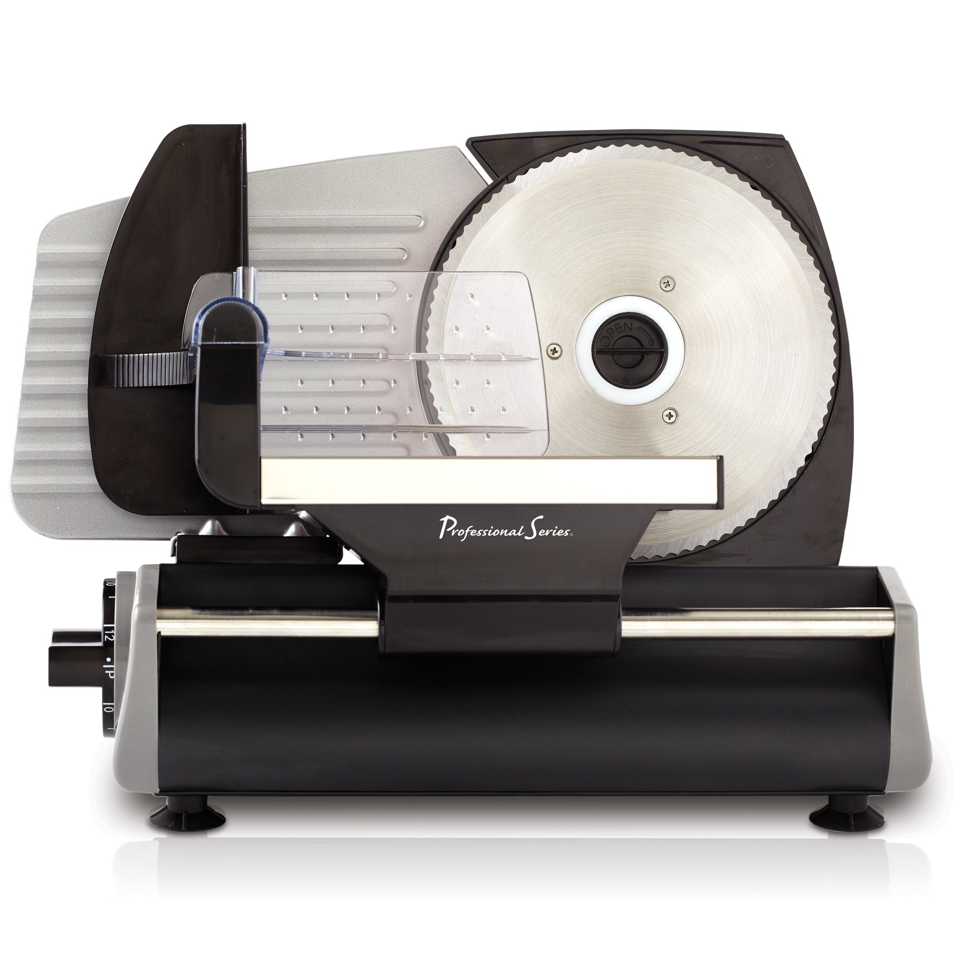 Continental Electric PS77711 Pro Series Meat Slicer, Smooth Blade, Stainless Steel by Continental Electric