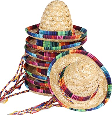 Fancy Dress Amazing  and Simple High Quality Mexican Sombrero Straw Hat
