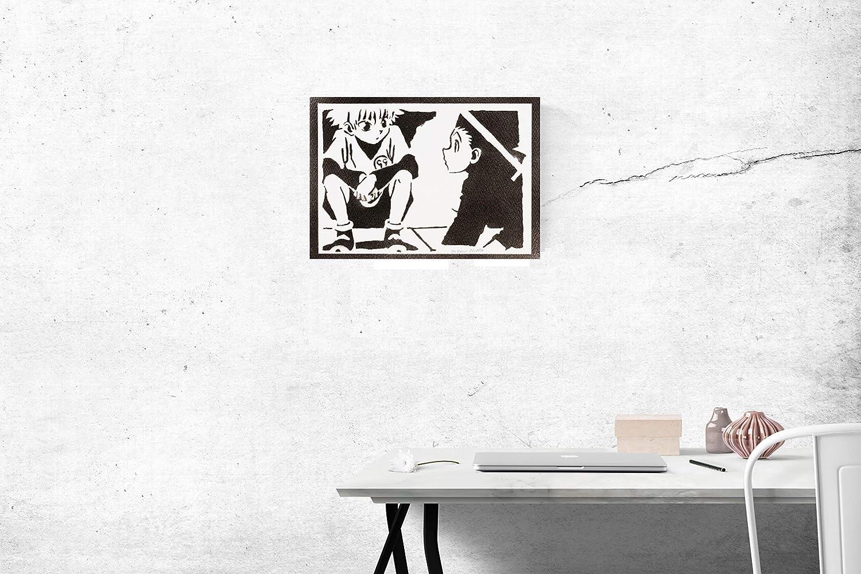 Vegeta Dragonball Poster Plakat Handmade Graffiti Street Art Artwork