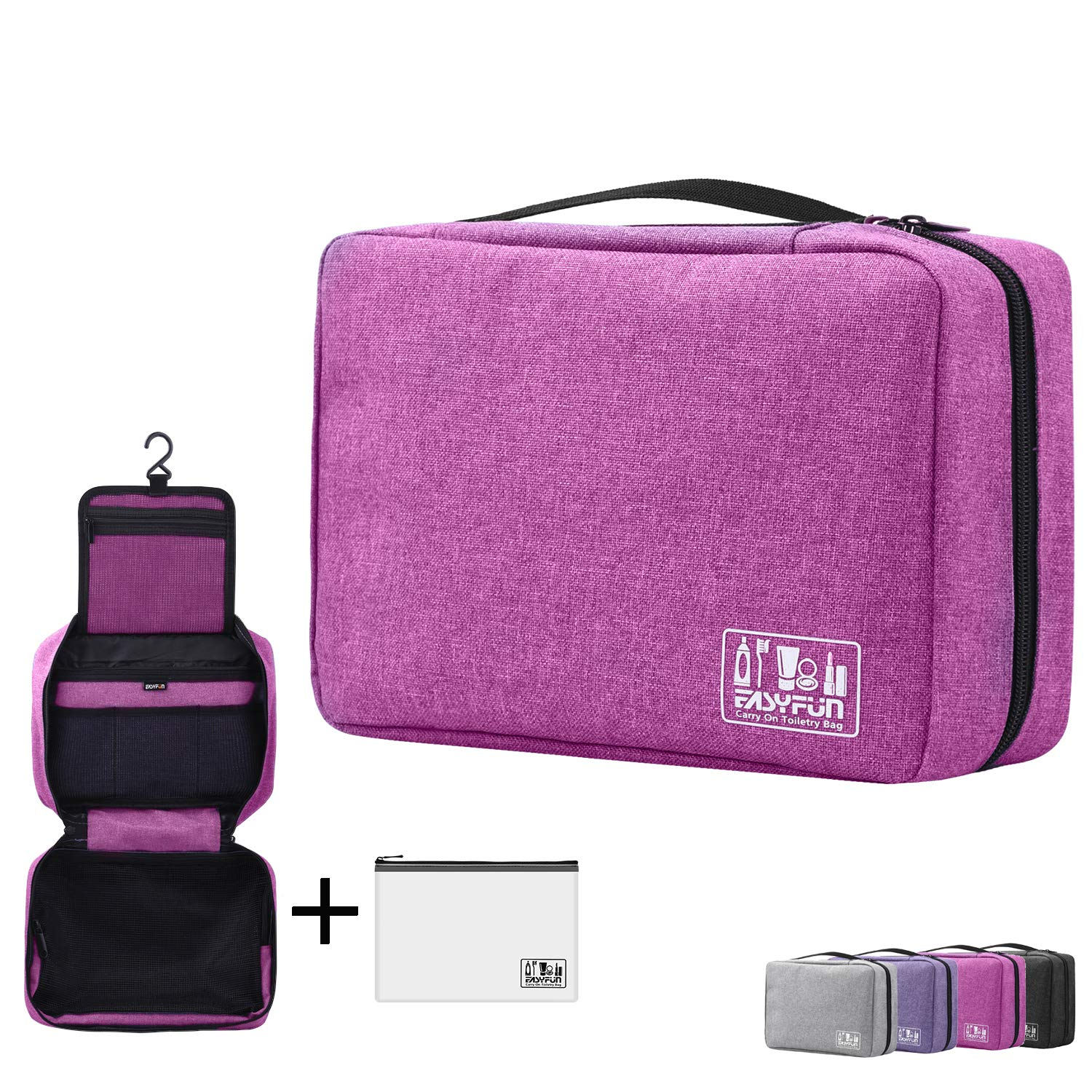 fc74c20ee9 Amazon.com   Hanging Toiletry Bag For Men   Women