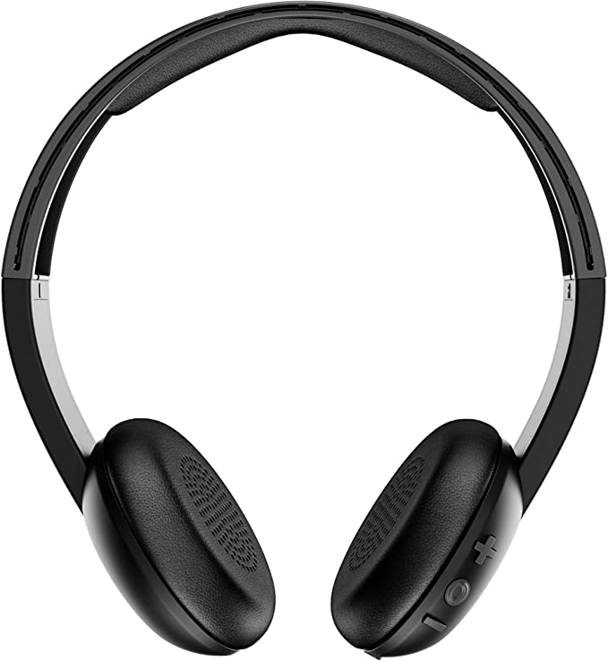 Amazon.com: Skullcandy Uproar Bluetooth Wireless On-Ear Headphones with Built-In Mic and Remote, Black: Home Audio & Theater