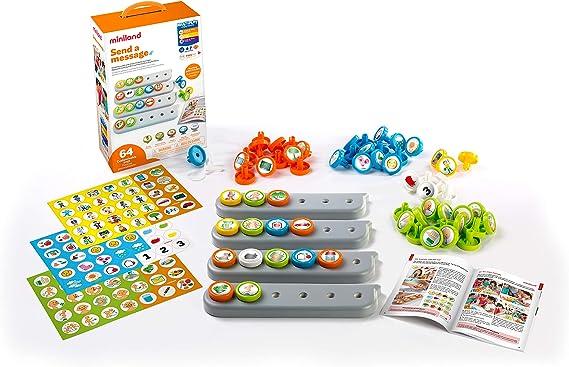 Miniland- Juego cooperativo - manipulativo para el aprendizaje del lenguaje, Color gris (31978) , color/modelo surtido: Amazon.es: Juguetes y juegos