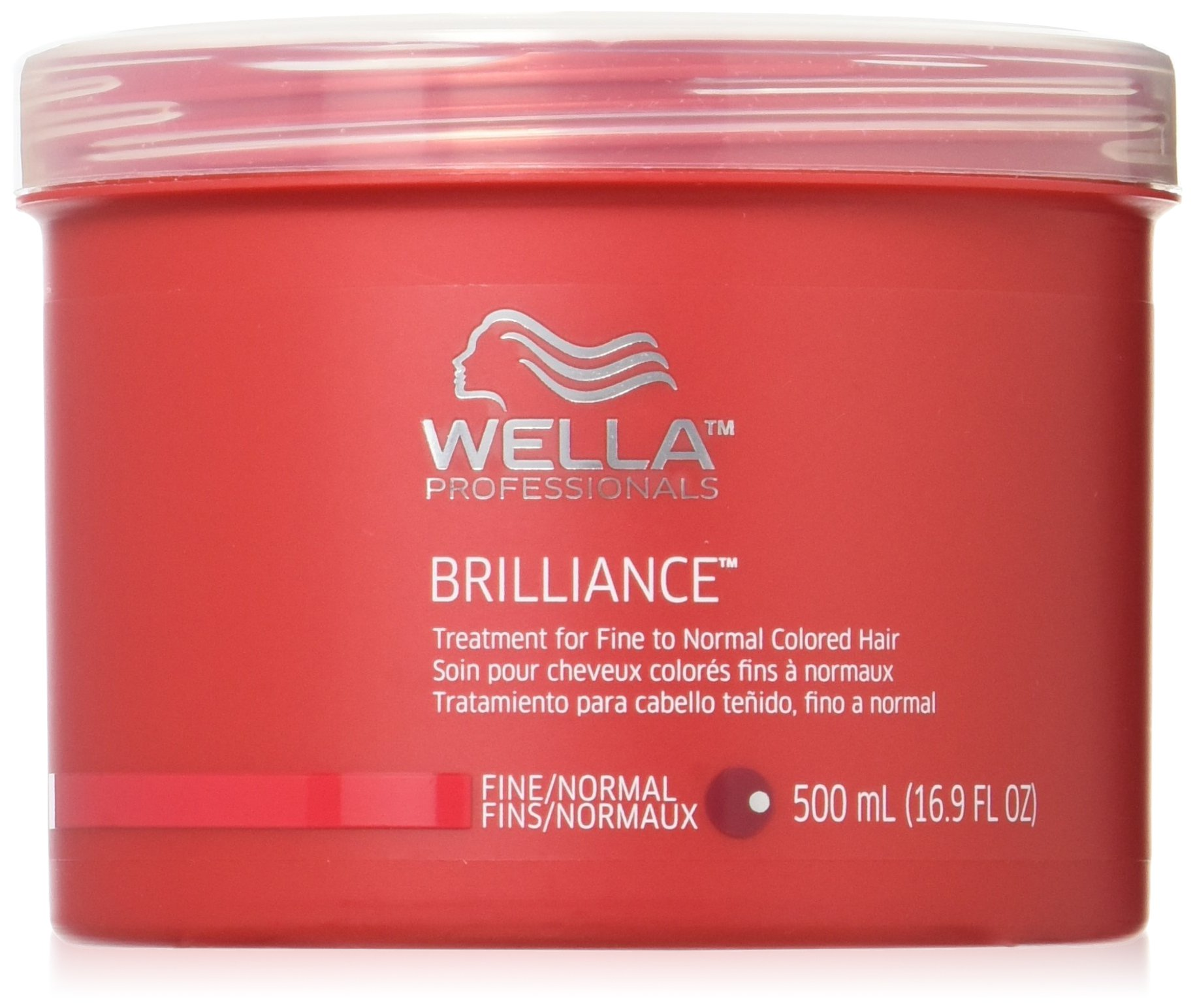 Wella Brilliance Treatment for Fine To Normal Colored Hair, 16.9 Ounce