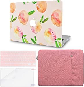 LuvCase 4 in 1 LaptopCase forMacBookAir 13 Inch A1466 / A1369 (No Touch ID)(2010-2017) HardShellCover, Sleeve, Keyboard Cover & Screen Protector(Orange)