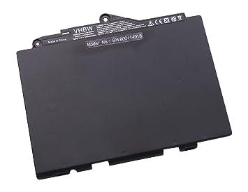 vhbw Litio polímero batería 3700mAh (11.4V) Negro para Ordenador portátil Laptop Notebook HP EliteBook 725 G3, 820 G3: Amazon.es: Electrónica