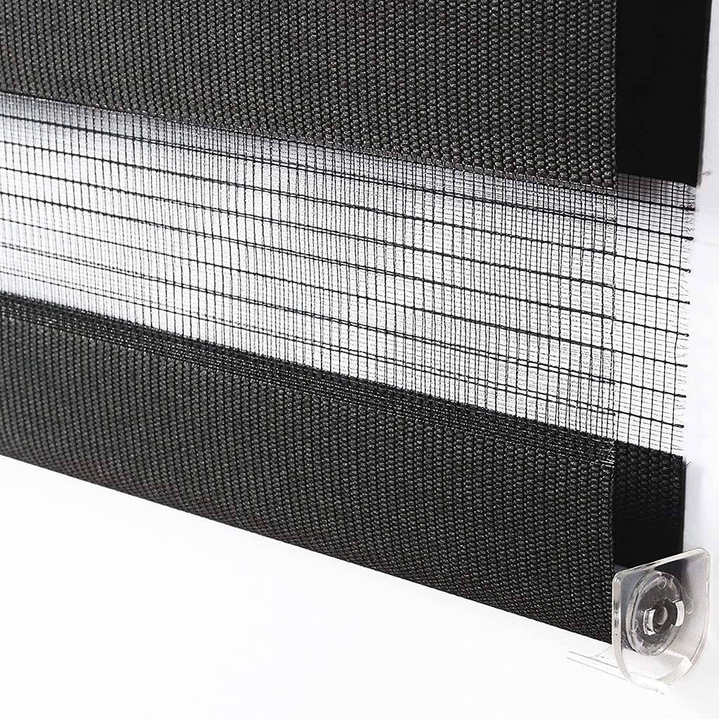 Day And Night Roller Blind Double-layer Roller Blind Translucent Or Blackout Curtain Roller Blind Easy To Install Zebra Roller Blind