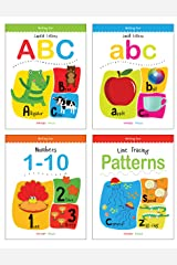 Writing Practice Boxset: Pack of 4 Books (Writing Fun: Write and Practice Capital Letters, Small Letters, Patterns and Numbers 1 to 10) Paperback