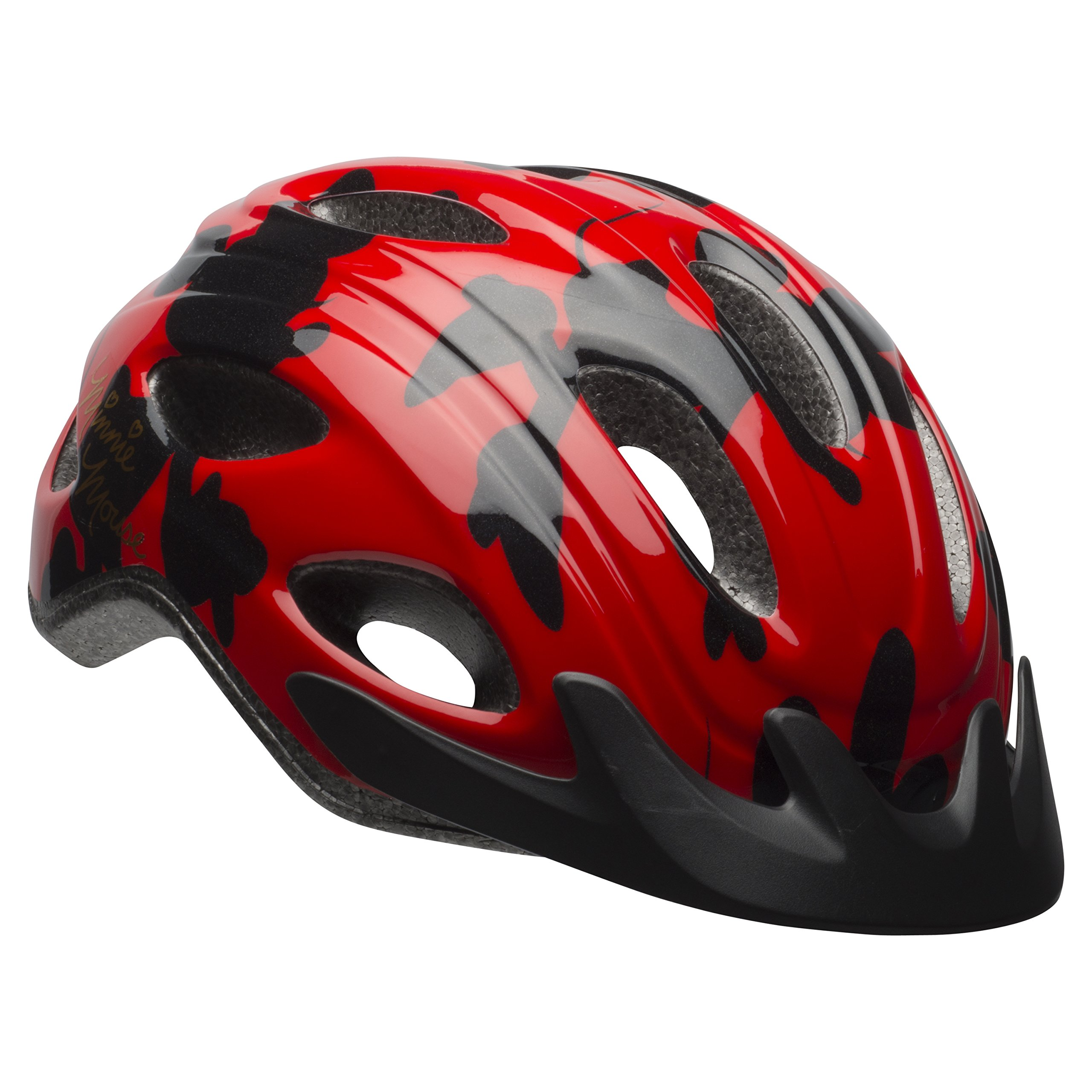 Bell Minnie Mouse Red & Black Women's Bike Helmet by Bell