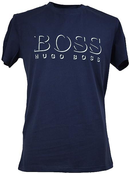 Hugo Boss UV Protection Men/'s T-Shirt Navy