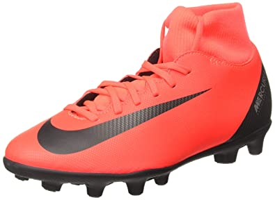 best website 9c55b b0291 Nike Unisex s Superfly 6 Club Fg Mg BRT Crimson Blk-Chrm Football Boots