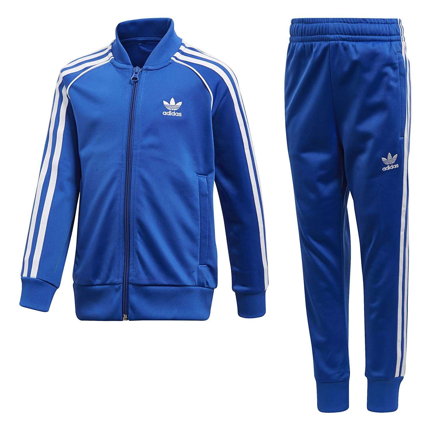 Adidas ORIGINALS Boys Little Boys Trefoil SST Track Suit CD8442